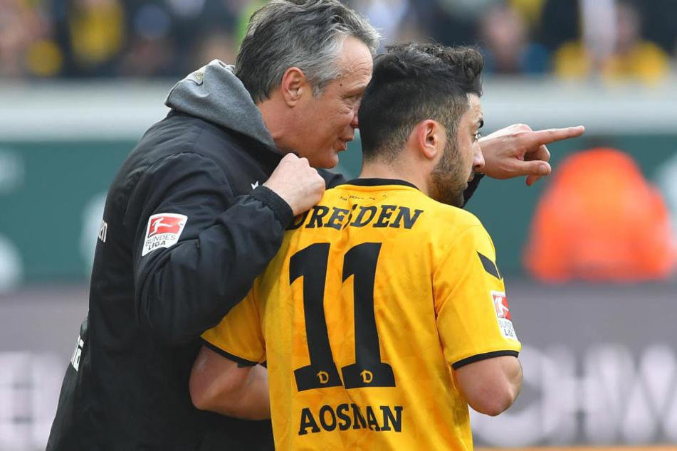 Auch die Anweisungen von Neuhaus an Aias Aosman verhalfen den Schwarz-Gelben nicht zum Sieg.