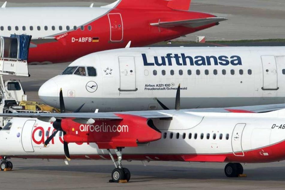 Die Lufthansa übernimmt etwa 1000 Mitarbeiter von Ari Berlin.