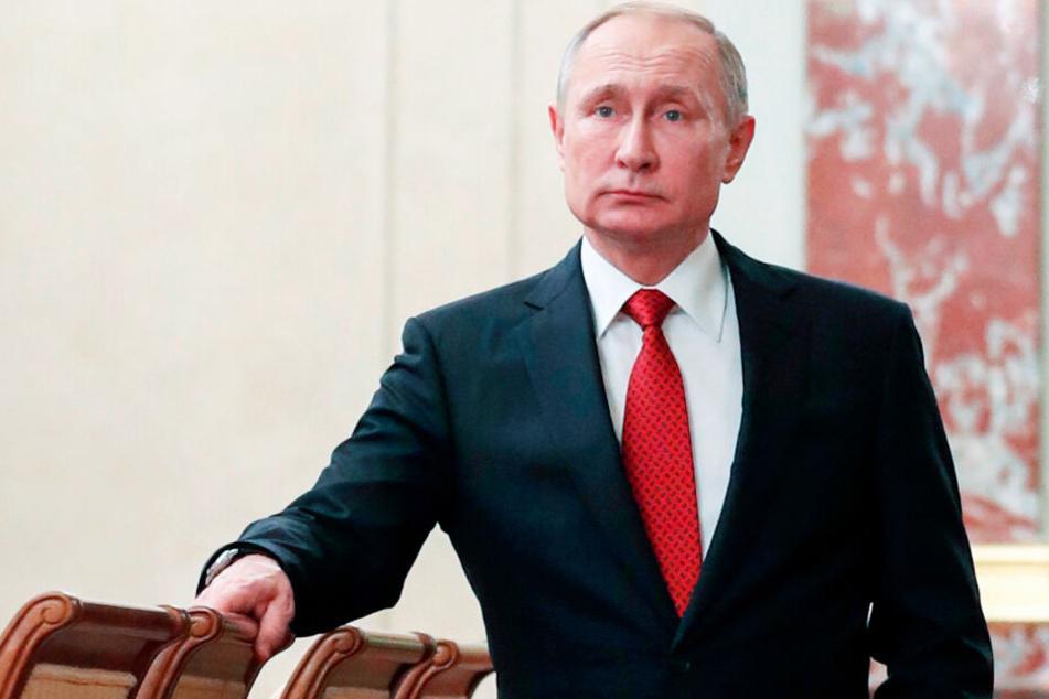 Wladimir Putin erwartet in der kommenden Woche Markus Söder in Moskau. (Archivbild)