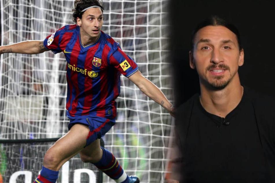 """""""Ich komme zurück"""": Löst Zlatan Ibrahimovic hier das Rätsel um seine Zukunft?"""