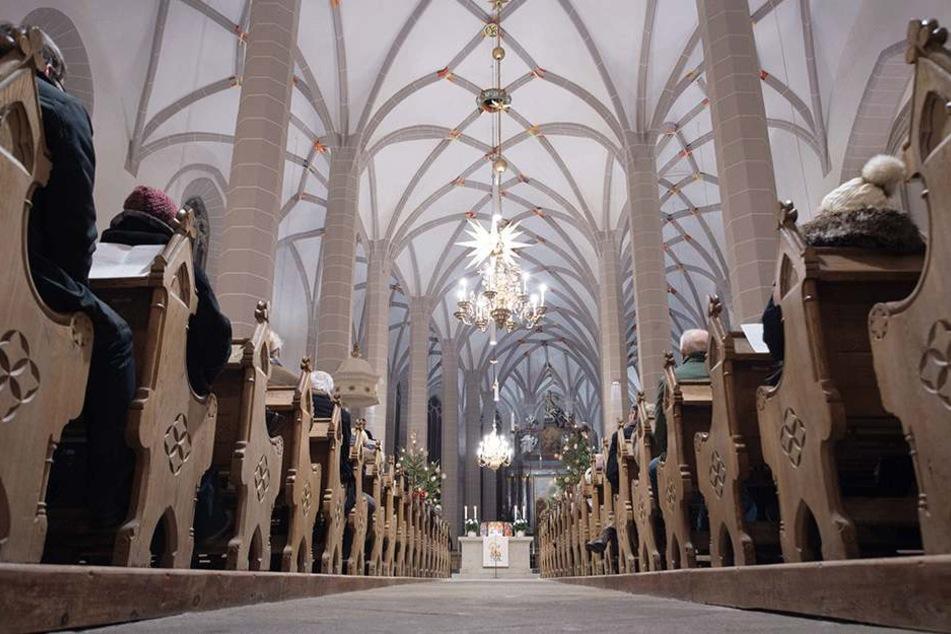 Volle Kirchen sieht man in Sachsen immer seltener.