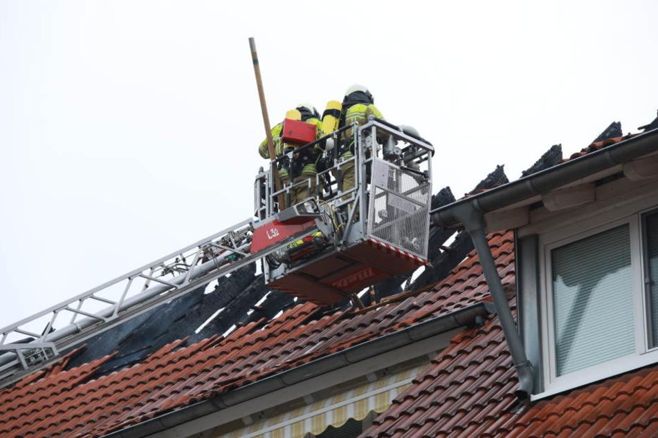 Die Kameraden konnten das Feuer schnell unter Kontrolle bringen.