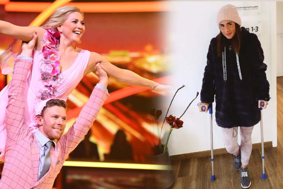"Sarah Lombardi mit Muskelfaser-Riss: Aleks Bechtel springt bei ""Dancing on Ice"" ein!"
