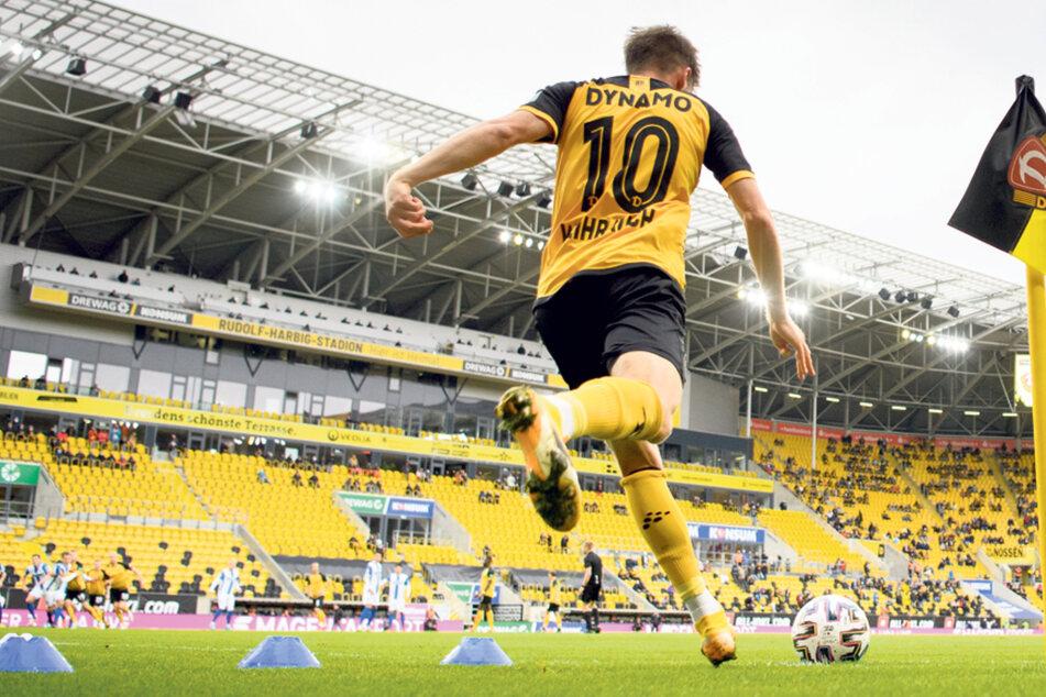 Dynamo Dresden muss weiter um einen regelmäßigen Zuschuss zur Stadionmiete bangen.