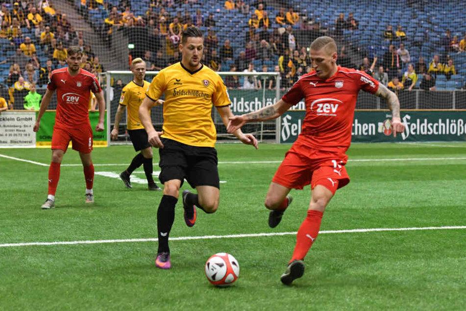 Hendrik Starostzik (li.) und Marc-Philipp Zimmermann sehen sich Ende März in Zwickau wieder.