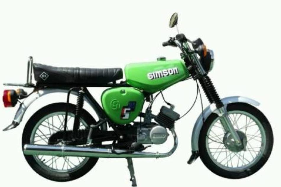 So ähnlich sieht die gestohlene Simson S70 aus.