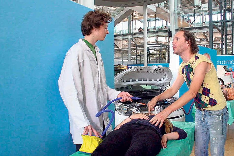 Olaf Schubert erklärt, wie man Leben rettet