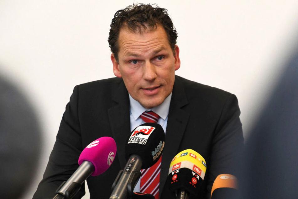 Jan Timke beteuert, dass er nicht Urheber der Veröffentlichung des Haftbefehls im Fall Chemnitz ist.