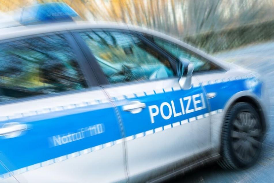 Zwei Beamte und drei andere Beteiligte des Unfalls wurden verletzt. (Symbolbild)