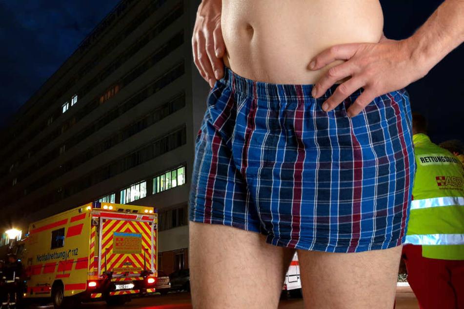 Nackedei-Alarm! Mann geht nachts in Unterhose spazieren: Seine Erklärung macht stutzig