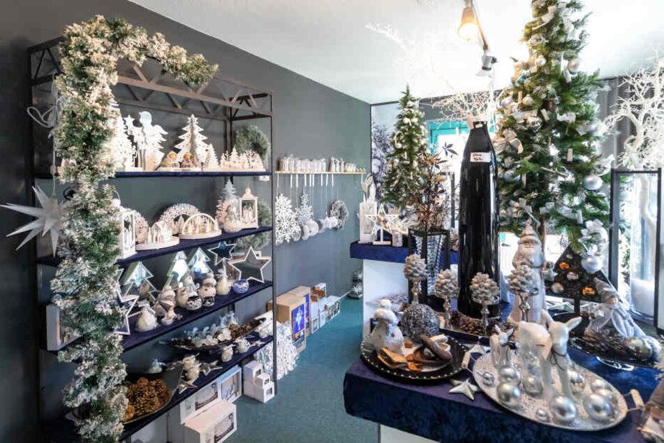 Die Firma Saico verkauft außer erzgebirgischer Holzkunst auch Weihnachts-Deko aus China.