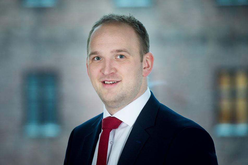 Der norwegische Landwirtschaftsminister Jon Georg Dale.