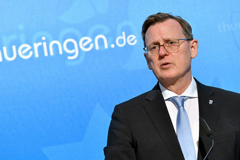 Ministerpräsident Bodo Ramelow (Linke) erwartet, dass Weimar seine Klage zurücknimmt.