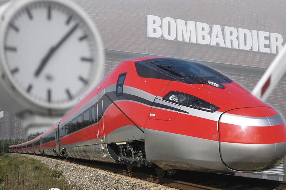 Bomben-Geschäft für Bombardier in Bautzen!
