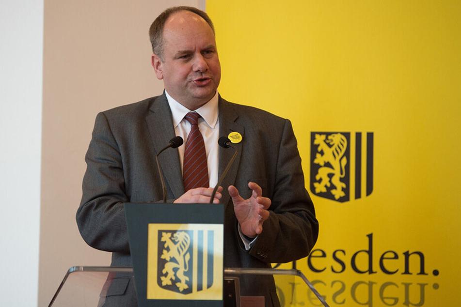 OB Dirk Hilbert (47, FDP) ist der Kopf der Kulturhauptstadt-Bewerbung.