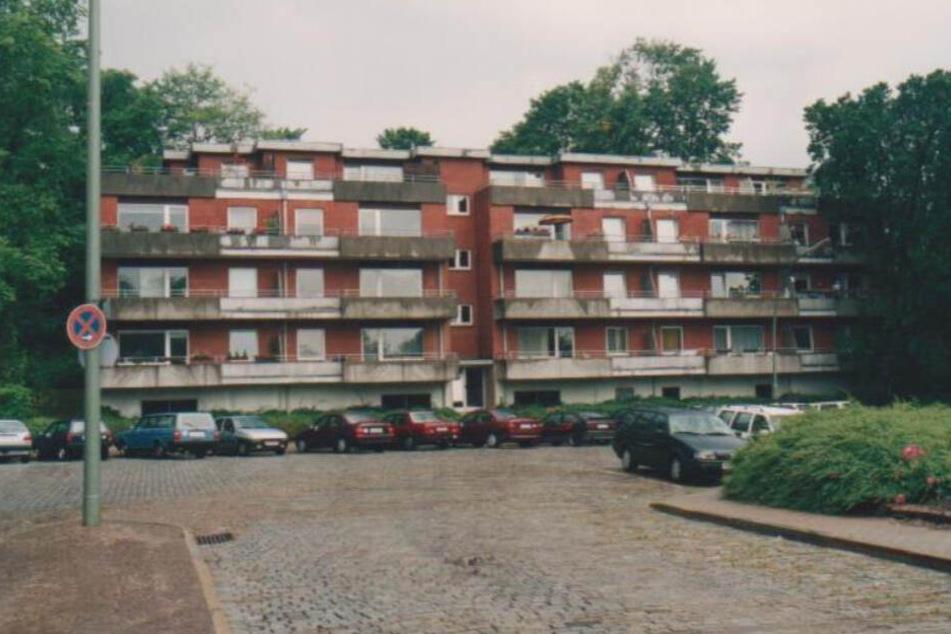 In diesem Mehrfamilienhaus am Flensburger Bahnhof wurde Sylvia D. ermordet.