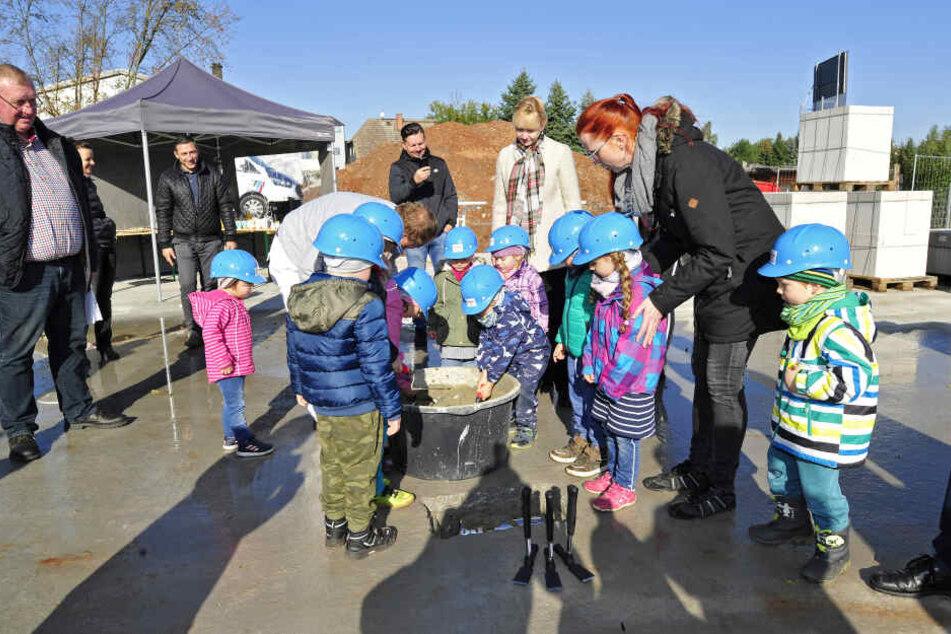 Die integrative Kita bietet Platz für 74 Kinder.