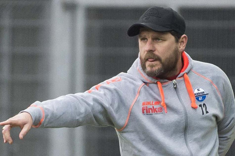 Ohne große Veränderungen wird der SCP-Coach Steffen Baumgart in die Partie gegen SG Sonnenhof Großaspach gehen.