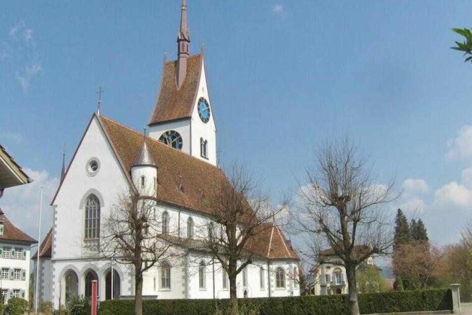 Die Kirche des beschaulichen Merenschwand.