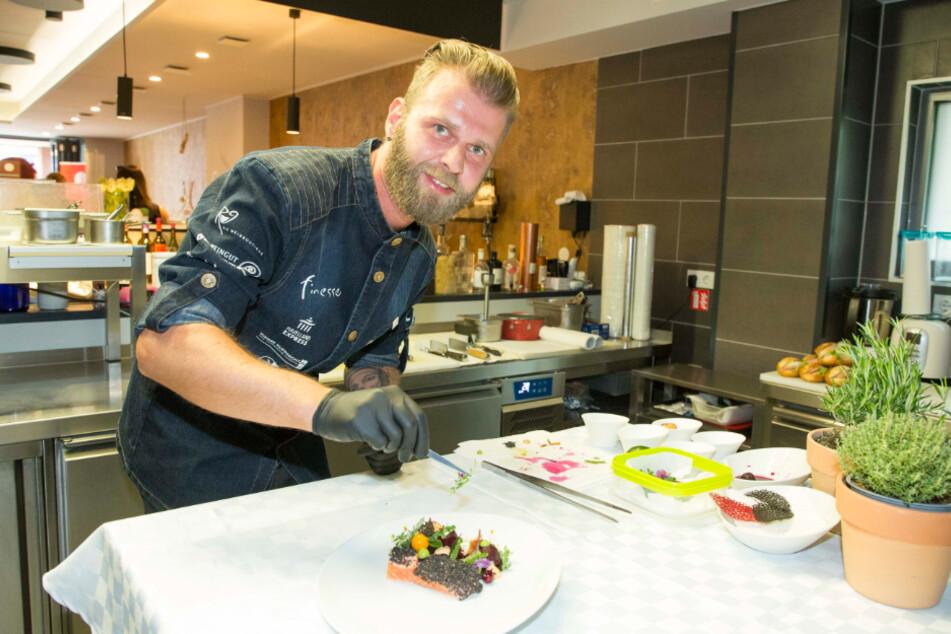 """""""Finesse""""-Chefkoch Elvis Herbek (39) ist auch in der 13. """"Kochsternstunden""""-Runde mit dabei."""