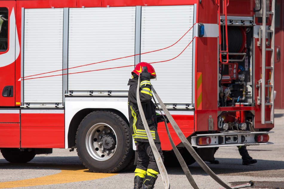 Feuer in Düsseldorfer Einkaufszentrum: Aufzug in Flammen