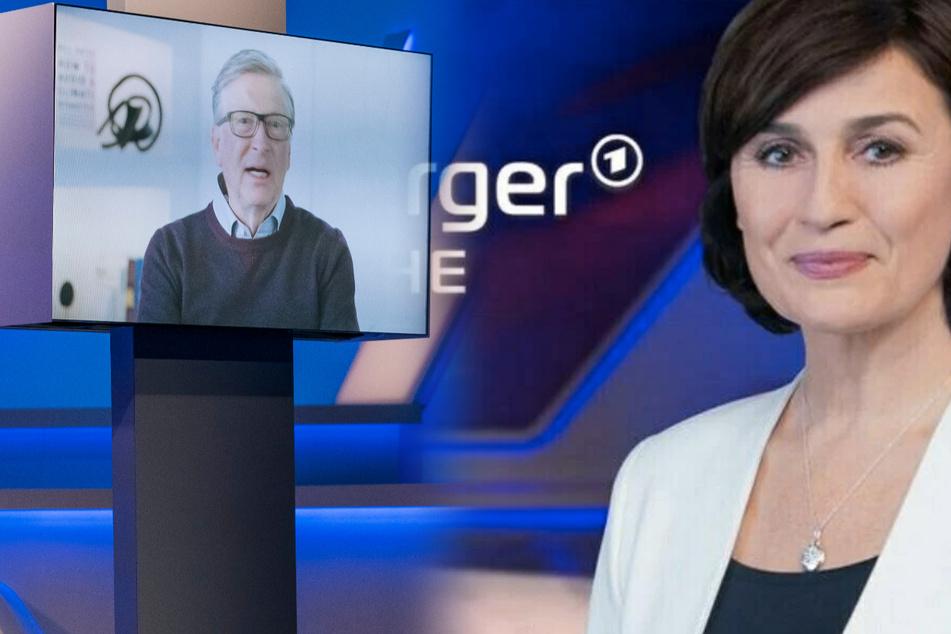 Bill Gates exklusiv bei Sandra Maischberger!