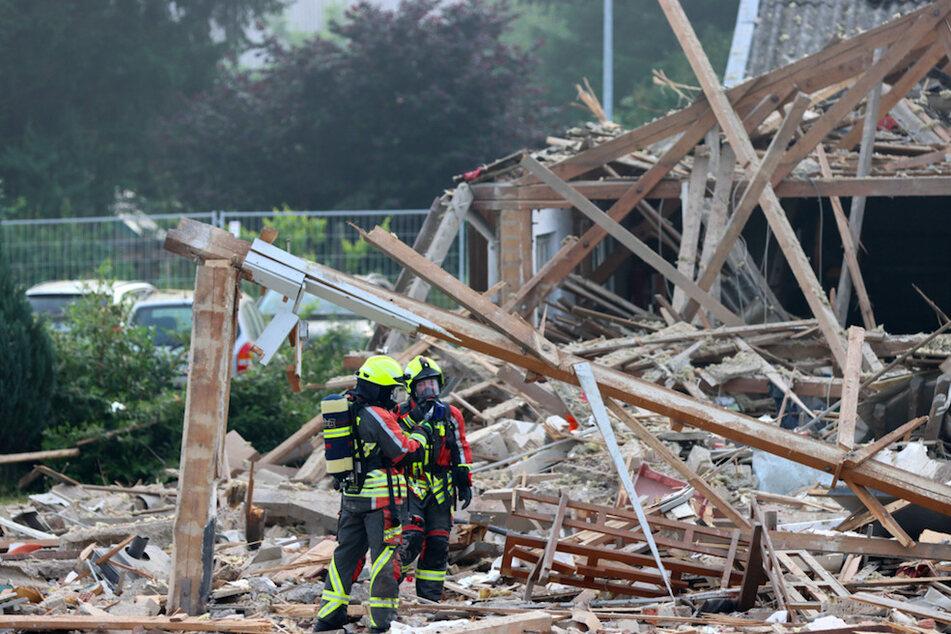 Explosion am Bahnhof Günzburg: 15 Verletzte, Polizei sucht nach Verschütteten