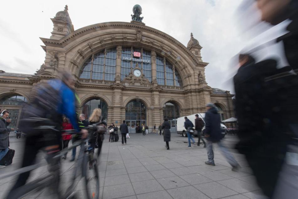 Brennpunkt Hauptbahnhof und Umgebung: Frankfurt kämpft gegen Drogenkonsum.