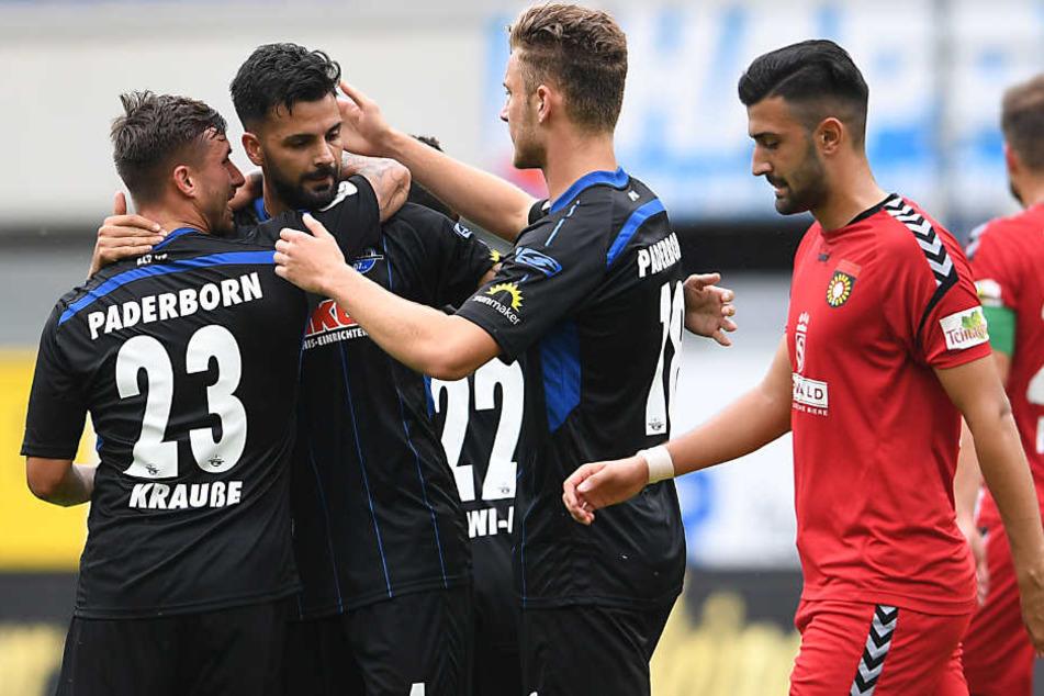 Bevor der FC Bayern kommt, muss der SC Paderborn am Samstag Sonnenhof Großaspach schlagen.