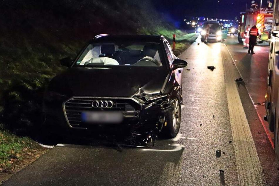 Ein entgegenkommendes Auto erfasste die Frau tödlich.