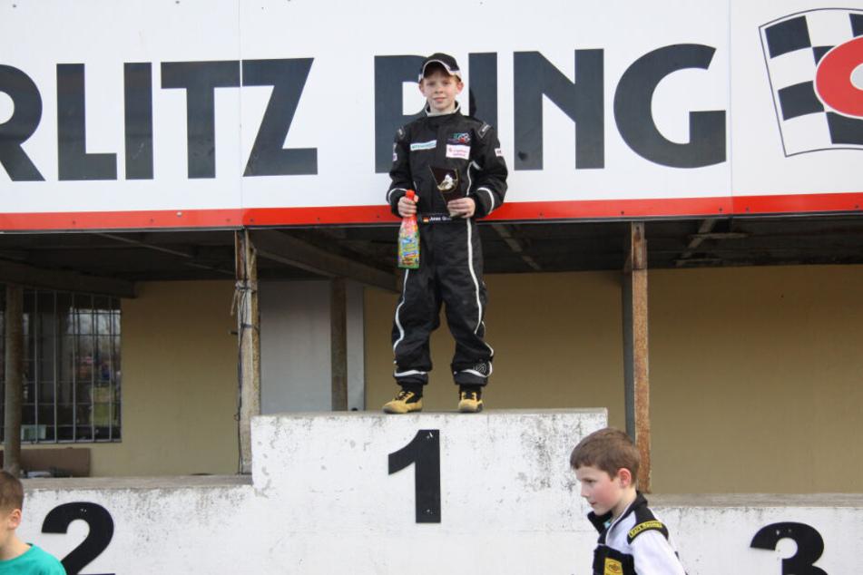 Als Neunjähriger gewann er bei seinem ersten Kart-Rennen den ersten Platz in Görlitz-Hagenwerder.