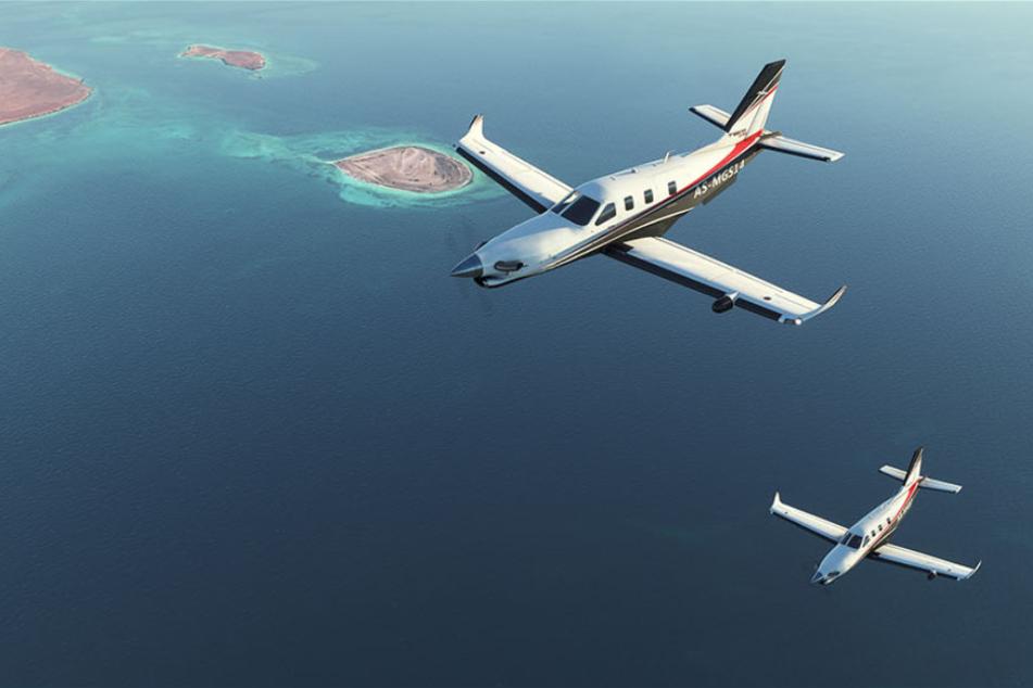 """Die Grafik im neuen """"Microsoft Flight Simulator"""" verspricht atemberaubend zu werden."""