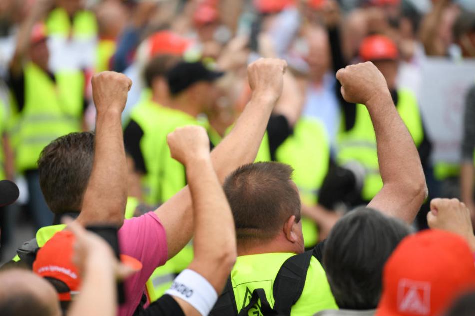Seit dem 14. Juni streikten die Mitarbeiter der Neue Halberg Guss.