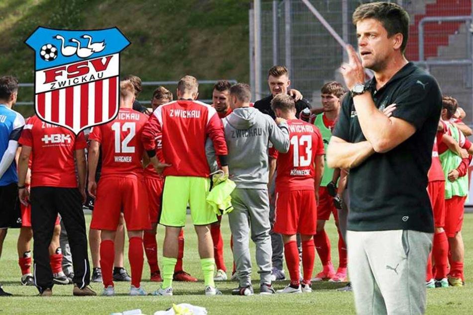Ein Schritt zurück: FSV-Coach stellt sein Team neu ein