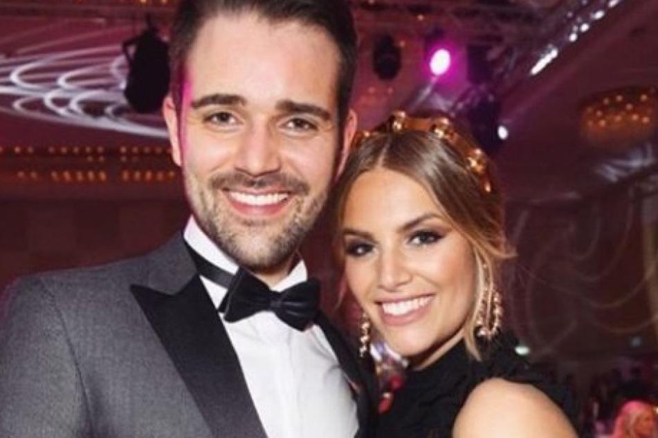 Curvy-Model Angelina Kirsch mit ihrem neuen Freund Mario Dornbach.