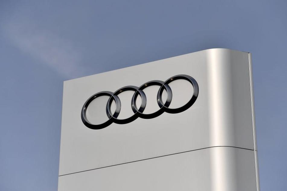 Seit dem Morgen durchsuchen die Ermittler Audi-Büros.