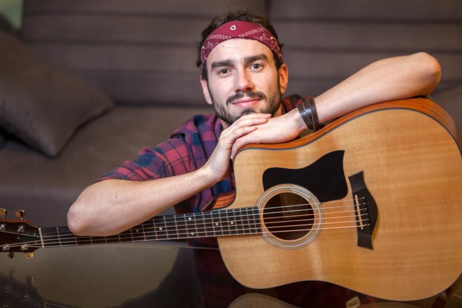 Jan Thierfelder alias Jante (27) macht Deutschpop mit Folk-Einflüssen.