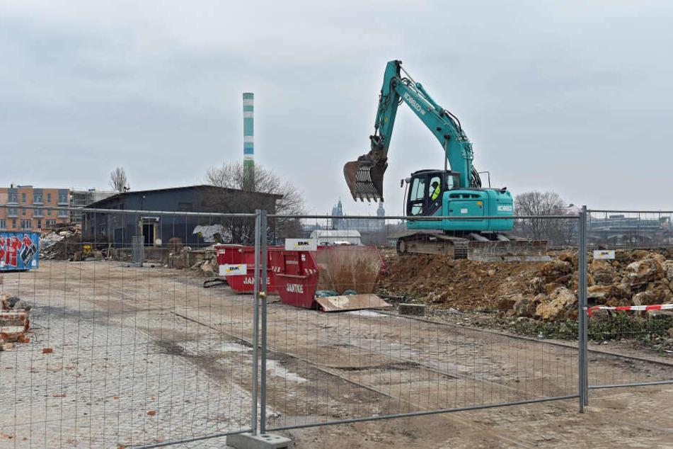 Dresden: Purobeach ist platt! So läuft der Bau der neuen Hafencity