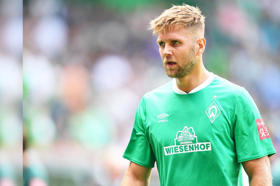 Herber Rückschlag für Werders Niclas Füllkrug, der sich im Abschlusstraining vor dem Duell mit RB Leipzig das Kreuzband riss.