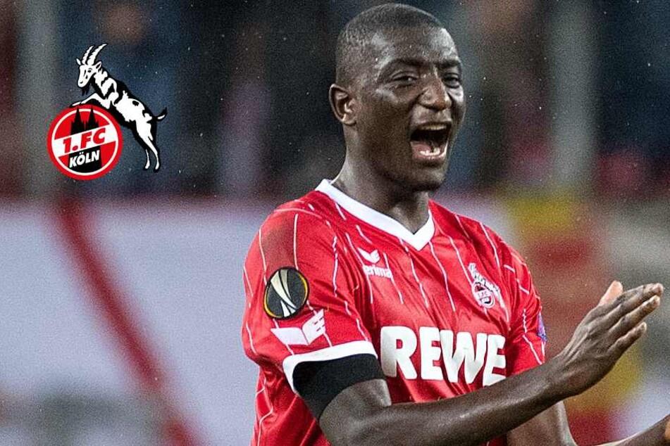 Der Einsatz von Sehrou Guirassy beim 1. FC Köln gegen Hannover 96 ist noch offen.