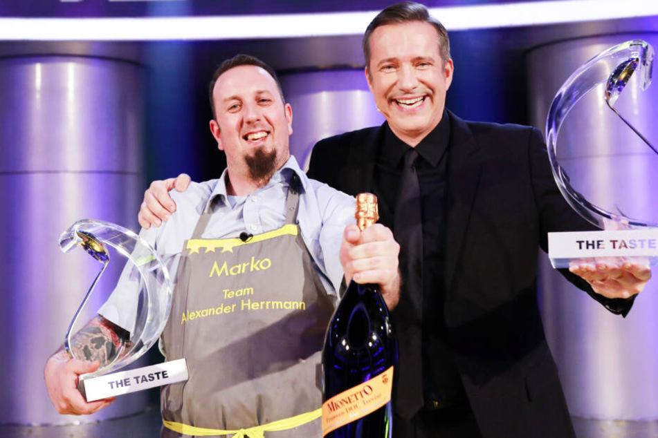 """""""The Taste"""": Sachse Marko gewinnt Kochshow"""