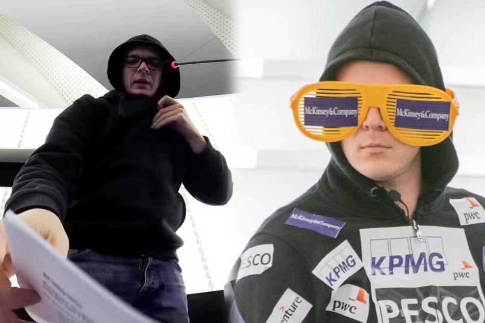 Nico Semsrott trollt Ursula von der Leyen im EU-Parlament