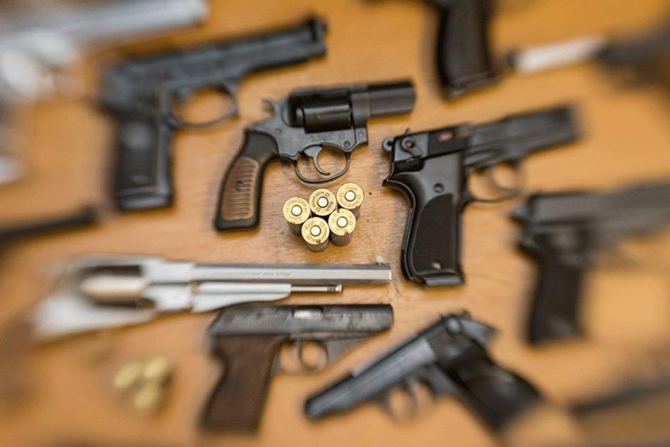 308 Schusswaffen, 17.764 Stück Munition: Sachsen entwaffnen sich (ein bisschen)