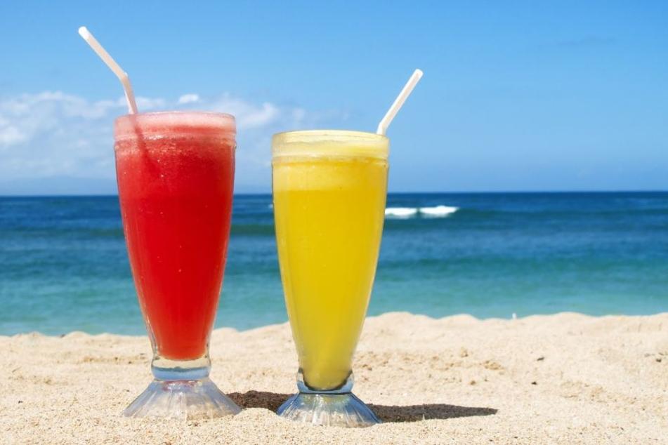 Strandfeeling gibt's am Sonntag bei kühlen Getränken auf der Santa Maria.