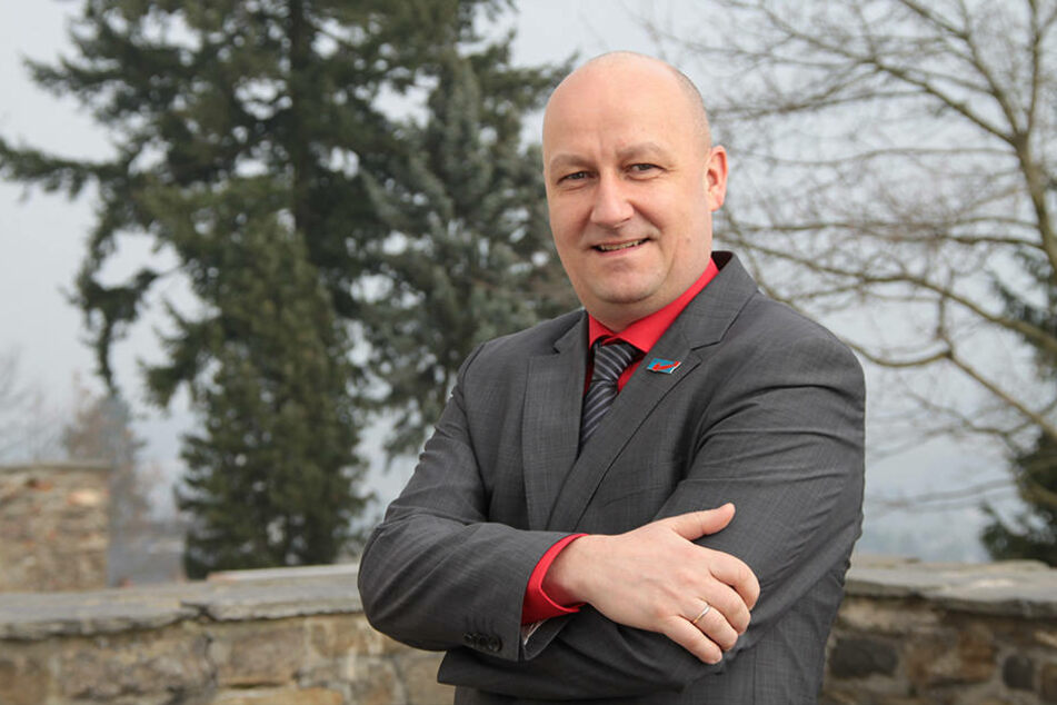 Beamter beim Verfassungsschutz: AfD-Funktionär Hendrik Seidel (51).