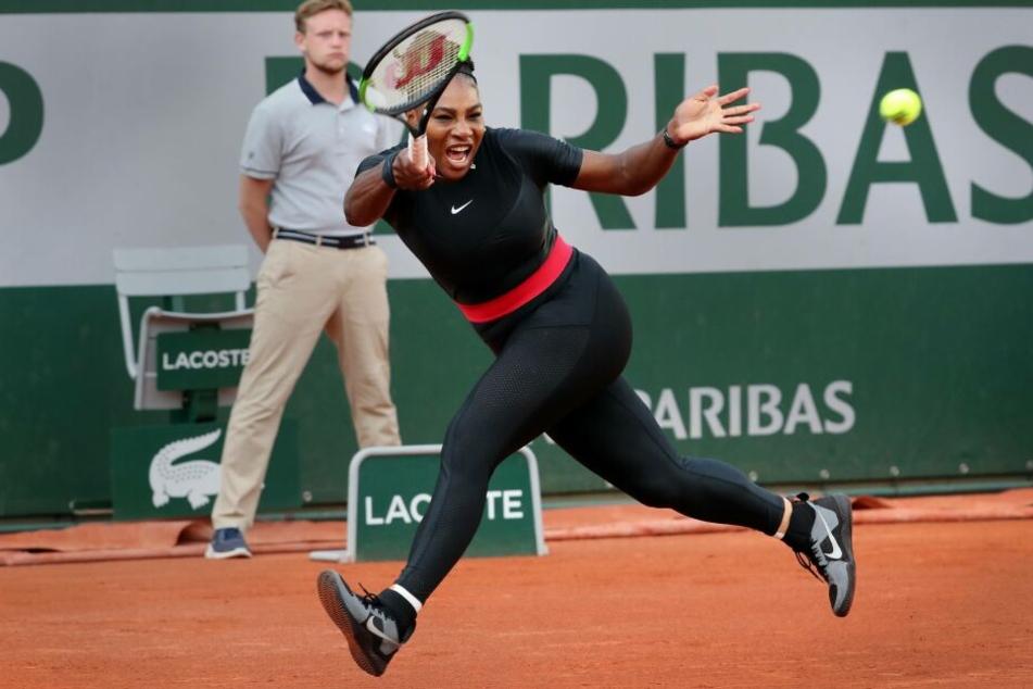Williams trug 2018 einen Catsuit, einen Einteiler, der dem Französischen Tennisverband übel aufstieß.