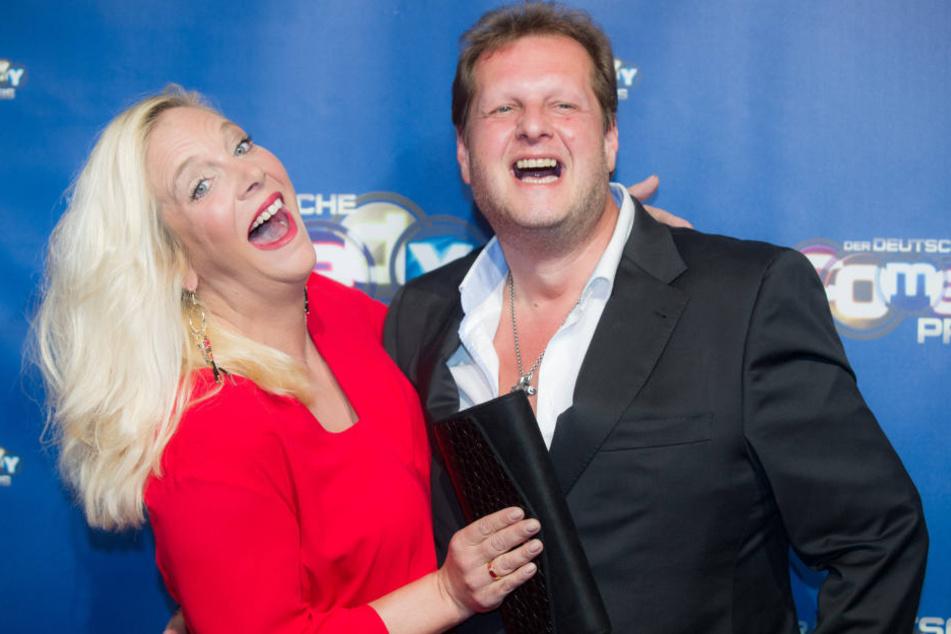 Jens Büchner (48) und seine Frau Daniela (40) haben am Samstag ihr Café auf Mallorca eröffnet.