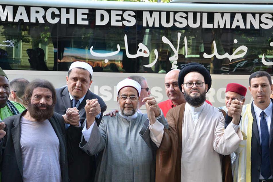 """""""Marsch der Muslime"""" in Berlin: Ein Zeichen gegen Terror"""