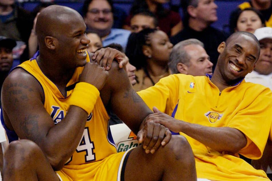 Kobe Bryant (rechts) war für Shaquille O'Neal (links) wie ein kleiner Bruder.