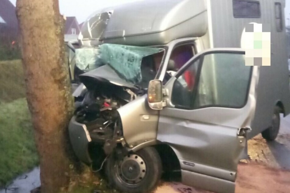 Die Fahrerin dieses Transporters war die Witwe von Tamme Hanken, Carmen.